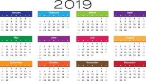 Doelen voor 2019