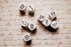 Tips over inspiratie - Rory's Story Cubes
