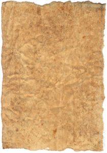 Papyrus uit het Oude Egypte