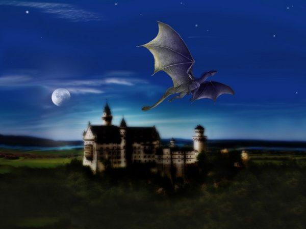 kort verhaal - een bijzondere draak - Vurix