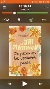Mijn gekozen luisterboek via Storytel