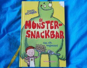 boekrecensie De Monstersnackbar hap slik wegwezen