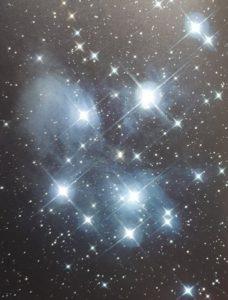de zeven zussen sterren