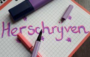 herschrijven van je manuscript