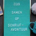 Samen op schrijfavontuur - jaaroverzicht 2019