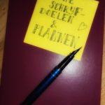 Nieuwe schrijfdoelen en plannen