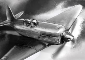 het luchtalarm - een kort verhaal over de Tweede Wereldoorlog - Jodenster