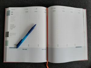 Purpuz Planner 2020 lege planning