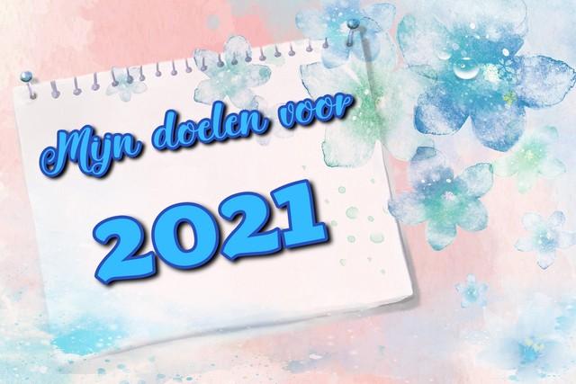 Mijn doelen voor 2021