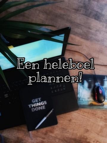 Weer een heleboel plannen