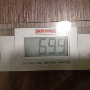 Afvallen met Weightloss Mastery - onder de 70 kilo