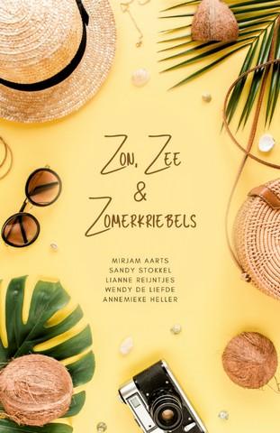 Zon, Zee en Zomerkriebels e-book voorkant